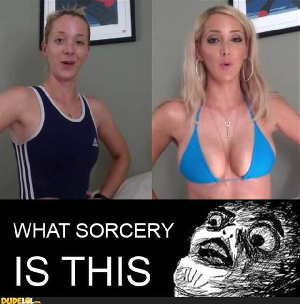 funny memes sports bra and make up
