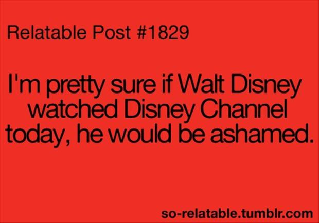Pics Photos - Funny Disney Channel Quotes Picture