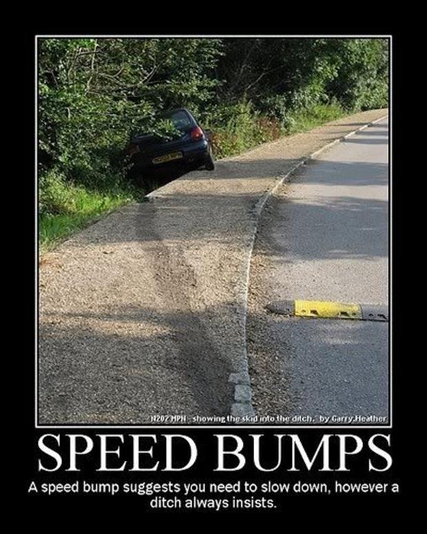 Funny Speed Bump Meme